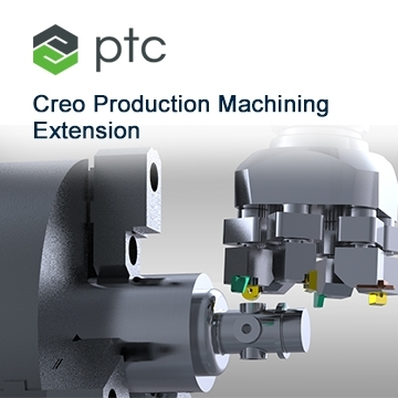PTC Creo Production Machining Extension