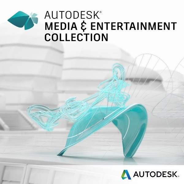 【Autodesk】Media & Entertainment Collection IC Commercial - 傳媒娛樂軟體集