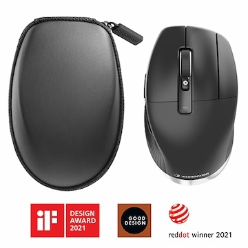 【3Dconnexion】CadMouse Pro Wireless (CAD專用人體工學滑鼠)